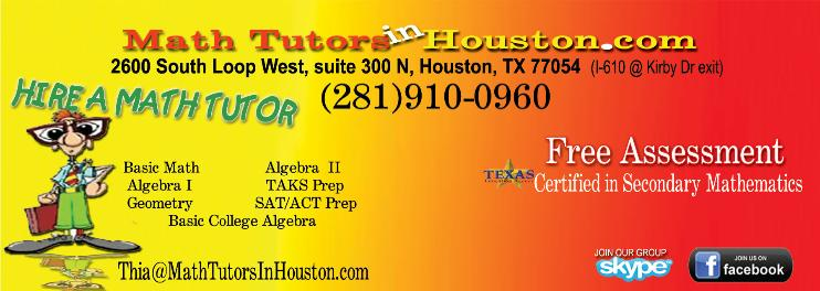 Math Tutoring Flyers Math Tutors in Houston